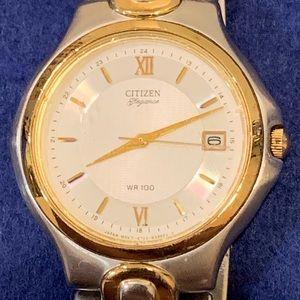 Nice Citizen Elegance Two Tone Dress Watch